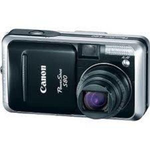 Canon - PowerShot S80 Digital Camera