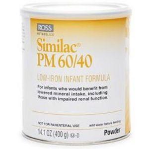 Similac PM 60/40 low Iron Baby Formula