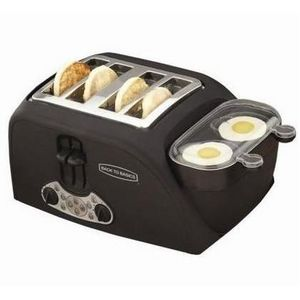 Back to Basics Egg 'N' Muffin 4-Slice Toaster