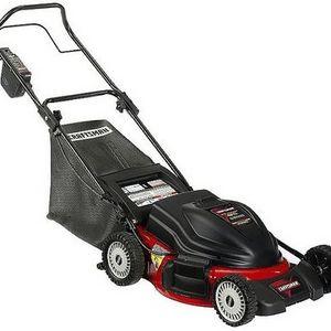 "Craftsman 48V 19"" Premium Battery Powered 3-in-1 Deck Lawn Mower"