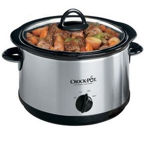 Crock-Pot 5-Quart Round Manual Slow Cooker