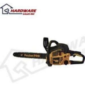 """Poulan 18"""" pro chainsaw"""