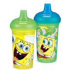 Munchkin 9oz Spongebob Spill-proof Sippy Cup