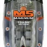 Personna M5 Magnum 5 Blade Shaver With Trimmer