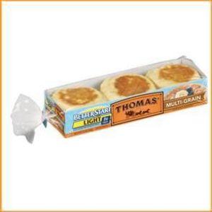 Thomas' Better Start High Fiber 100 Calories English Muffins