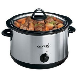 Rival 5-Quart Round Manual Slow Cooker