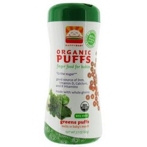 Happy Baby Organic Greens Puffs