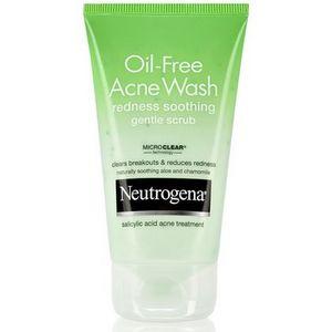 Neutrogena Oil-Free Acne Wash Redness Soothing Gentle Scrub