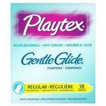 Playtex Gentle Glide Tampons Odor Absorbing Regular