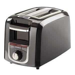 Black & Decker Toast-It-All Plus 2-Slice Toaster