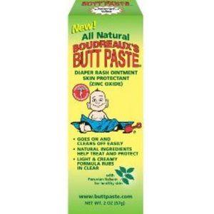Boudreaux's All Natural Butt Paste Diaper Rash Ointment