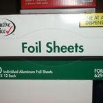 Executive Choice Pop-Up Foil Sheets