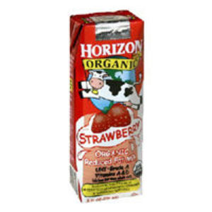 Horizon Organic Single Serve Milk - Strawberry
