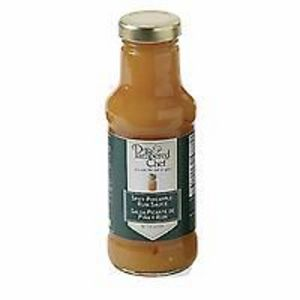 Pampered Chef Spicy Pineapple Rum Sauce