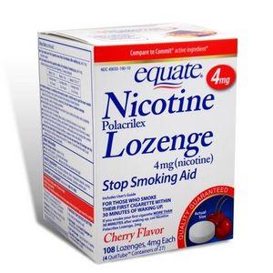 Equate Nicotine Lozenges