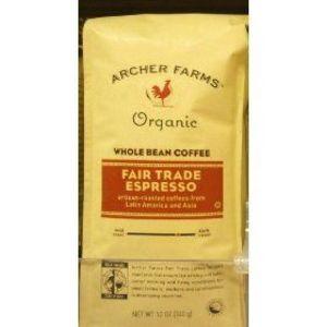 Archer Farms Organic Whole Bean Coffee Fair Trade Espresso