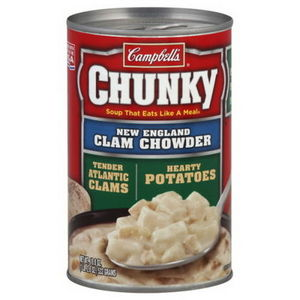 Campbell's Chunky New England Clam Chowder