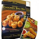 Trader Joe's Trader Ming's Chicken Egg Rolls and Chicken Shu Mai