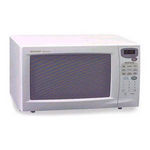 Sharp 1100 Watt 1.1 Cubic Feet Carousel Microwave Oven