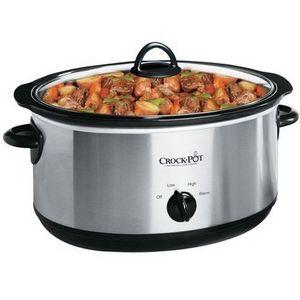 Crock-Pot 7-Quart Oval Slow Cooker