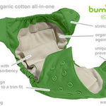 bumGenius Organic One-Size All-in-One Cloth Diapers
