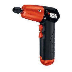 Black & Decker Volt Alkaline Battery 1/4 inch Hex Cordless Drill/Driver