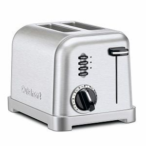 Cuisinart Metal Classic 2 Slice Toaster CPT 160 CPT 160BCH