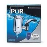 PUR Chrome Faucet Water Filtration System