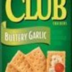Keebler - Club Buttery Garlic Crackers