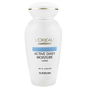 L'Oreal Active Daily Moisture Lotion SPF 15