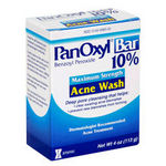 Stiefel PanOxyl Bar Maximum Strength Acne Wash