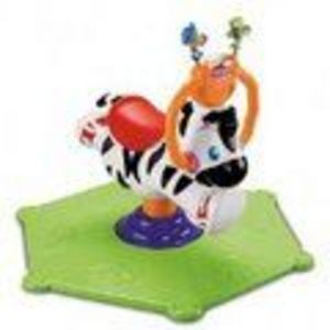 Fisher Price Fisher Price Baby Gymtastics Bounce & Spin Zebra