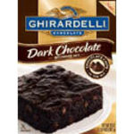 Ghirardelli Dark Chocolate Brownie mix