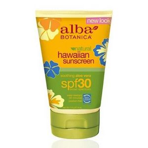 Alba Botanica Hawaiian Aloe Vera Sunscreen SPF 30