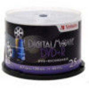 Verbatim (94865) 8x DVD+R Spindle (25 Pack)