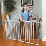 Summer Infant Sure and Secure Extra Tall Top of Stairs Gate with Banister Kit