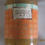 Tastefully Simple Zesty Cracked Peppercorn Sauce