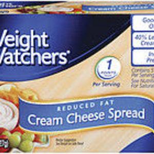 Weight Watchers Cream cheese