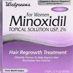 Walgreens Minoxidil 2% for women