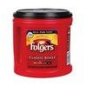 Folgers Ground Coffee, Classic Roast, 33.9 oz (Pack of 4) (Folgers)
