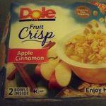 Dole - Fruit Crisp Apple Cinnamon