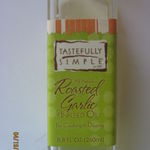 Tastefully Simple Roasted Garlic Infused Oil