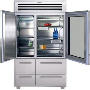 Sub Zero Pro Bottom Freezer Refrigerator