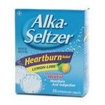 Alka-Seltzer Heartburn Relief Lemon-Lime Effervescent