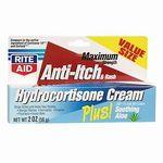 Rite Aid Hydrocortisone Cream USP 1% Anti-Itch Cream & Rash Cream