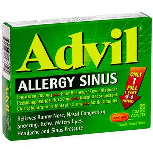 Advil Allergy Sinus Coated Caplets