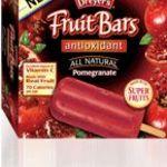 Edy's Fruit Bars All Natural Pomegranate AntiOxidant