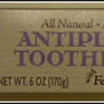Trader Joe's Antiplaque Toothpaste with Fennel, Propolis & Myrrh