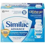 Similac Advance On-the-Go Nipple Ready Bottles