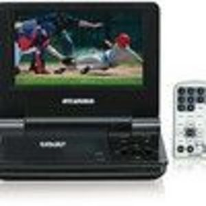 Sylvania - 7 in. Portable Player with Screen